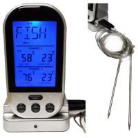 Термометр цифровой с 2-мя щупами и Wi-Fi модулем